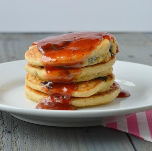 Blueberry-Cornbread-Pancakes