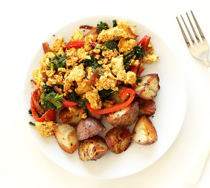 low carb vegan Tofu-Scramble