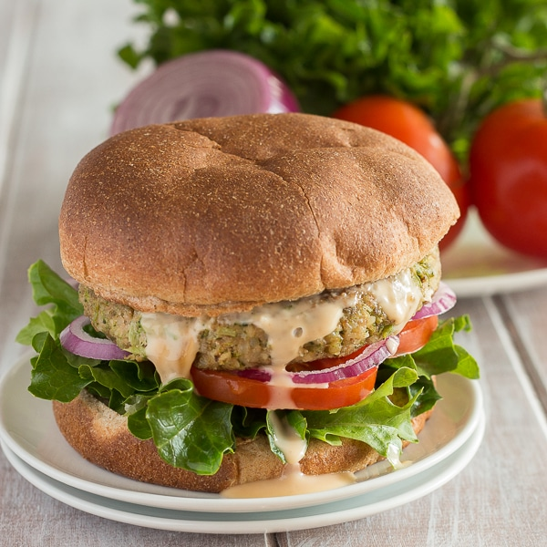 Vegan-Broccoli-Burgers