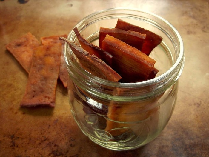 low carb vegan tofu jerky