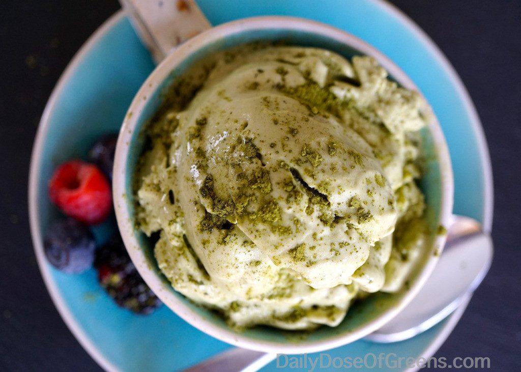 matcha vegan ice cream