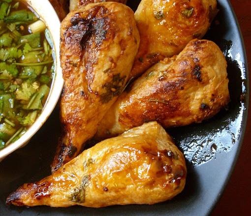 spicy vegan thai wings