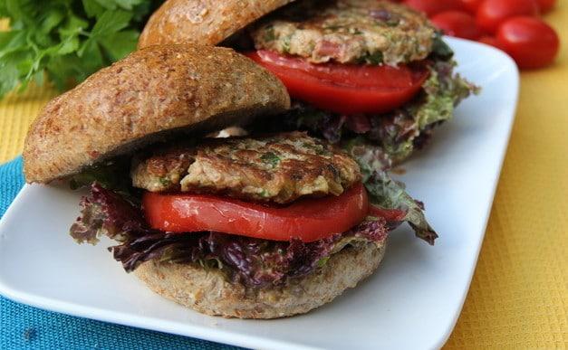 swiss chard vegan burger