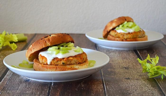 vegan Buffalo-Burger