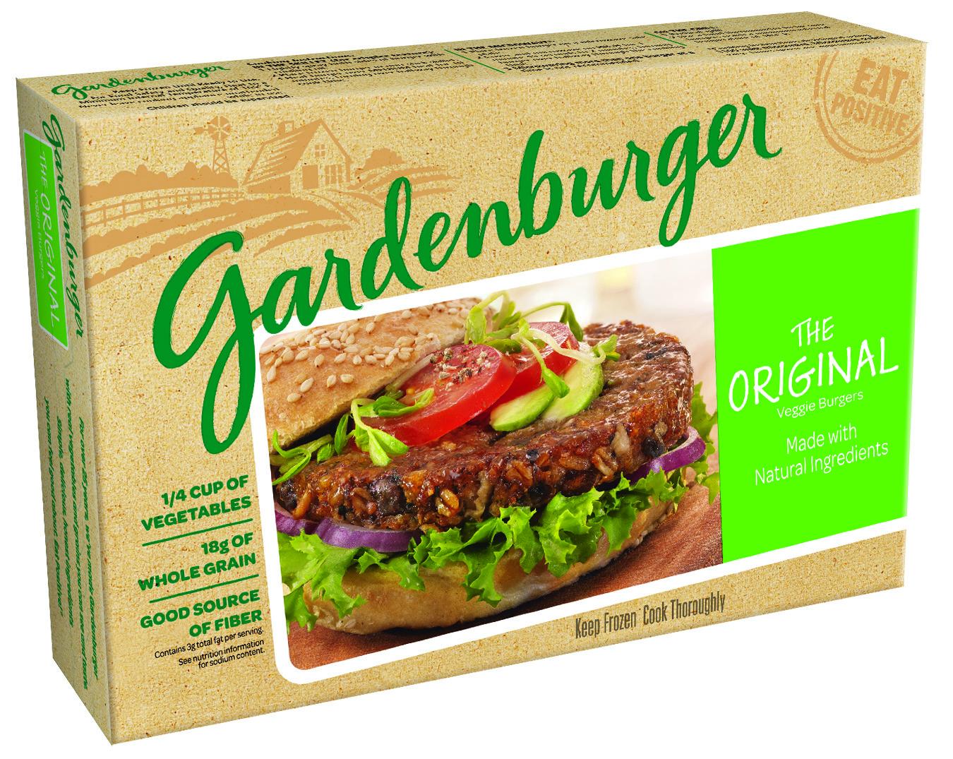 garden burger vegan