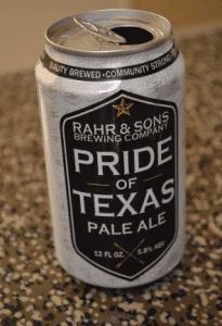 Pride of Texas Pale Ale