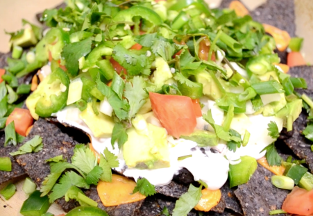 Smothered and Covered Vegan Nachos
