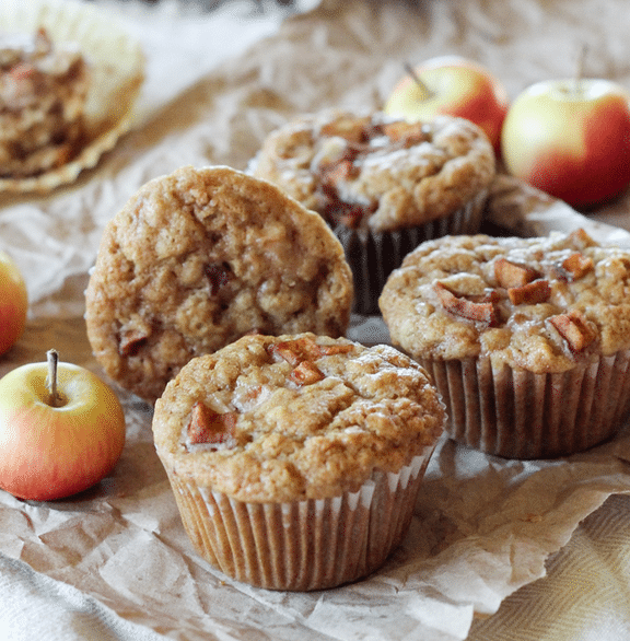apple vegan muffins recipe