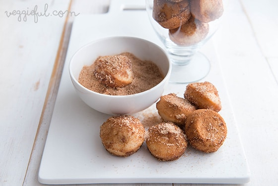 vegan doughnut muffins