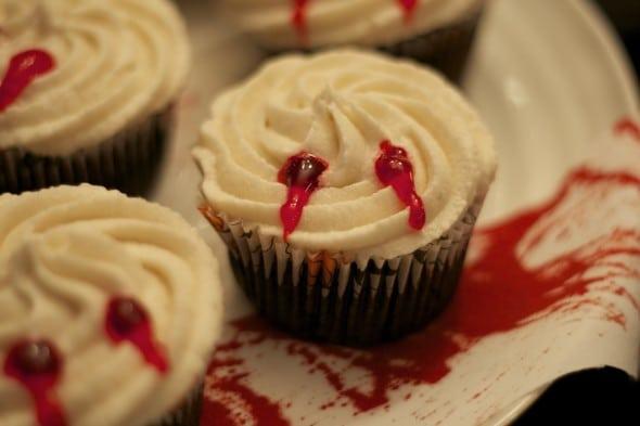 Vampire Cupcakes vegan recipe