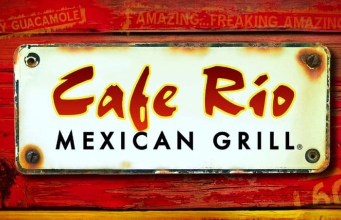 Vegan Menu At Cafe Rio