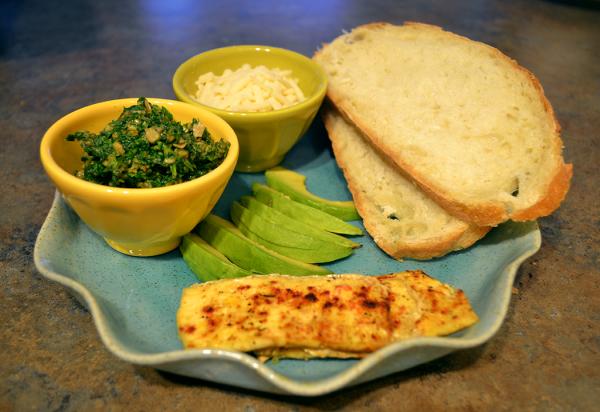 tofu sandwich ingredients