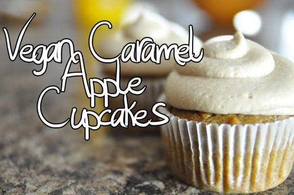 vegan-caramel cupcakes