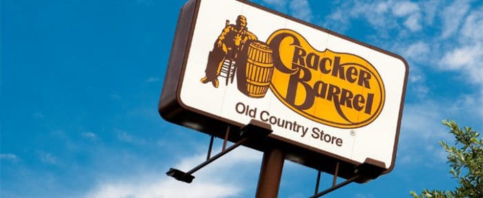 vegan options at cracker barrel old country store