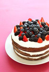 began birthday cake