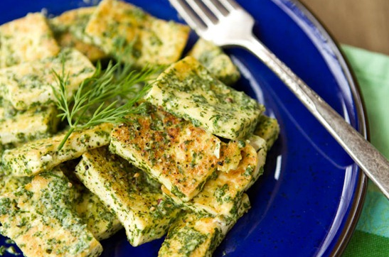 lemon dill tofu recipe