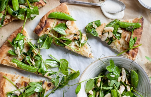 vegan Snap-Pea-Pizza
