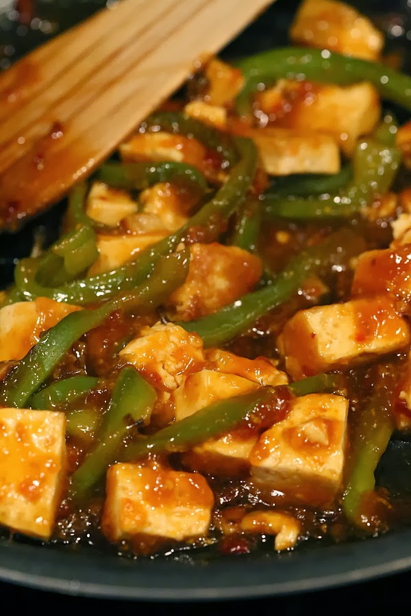 Orange-tofu