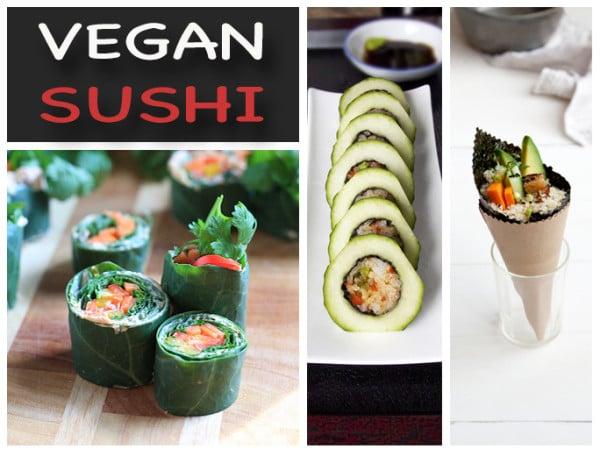 15 Vegan Sushi Recipes That'll Make You Think You're Turning Japanese