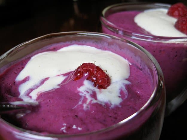 Vegan-Tofu-Berry-Custard
