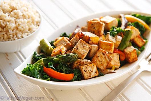 black-pepper-garlic-tofu