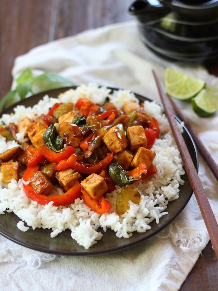 caramelized-shallot tofu recipe