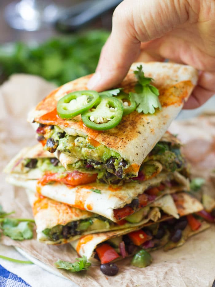 loaded-avocado-quesadilla