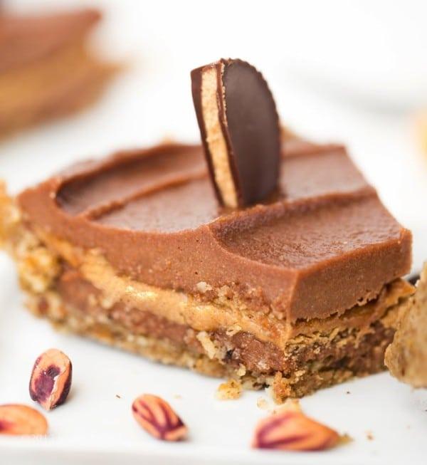 raw vegan peanut butter pie