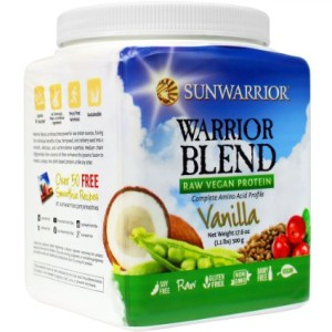 sunwarrior raw vegan protein powder