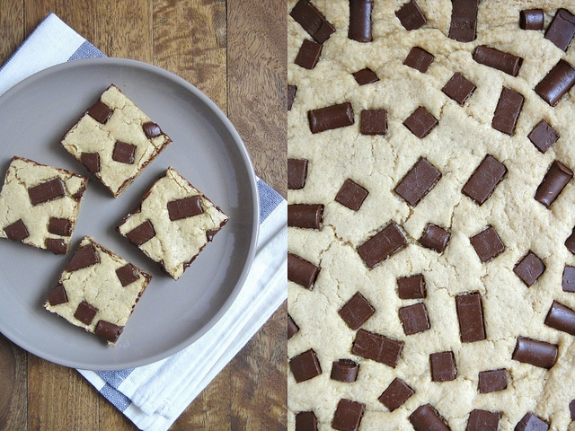 tofu cookie bars