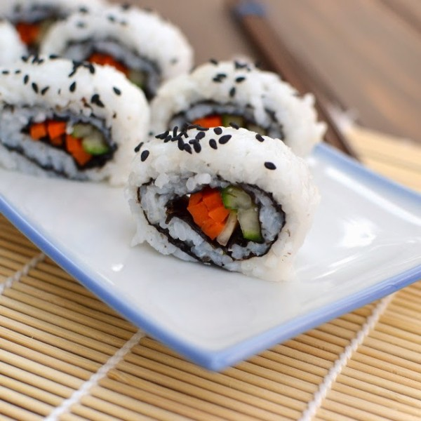 vegan California Sushi Roll