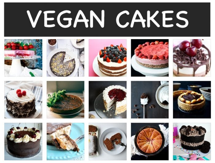 vegan cake recipes