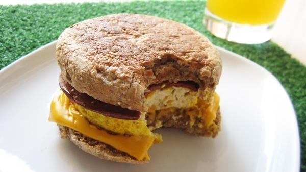 vegan egg mcmuffin