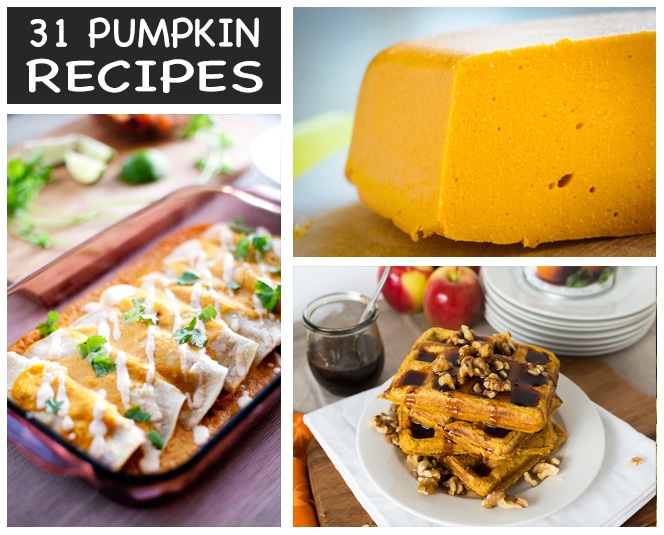 31 Vegan Pumpkin Recipes