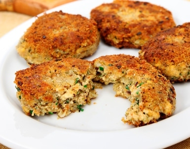 tofu crab cakes recipe
