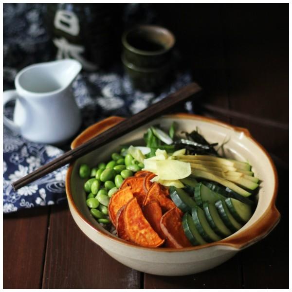 wabi sabi sushi bowl
