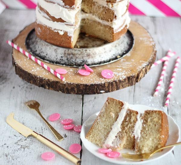 Cream Soda Birthday Cake