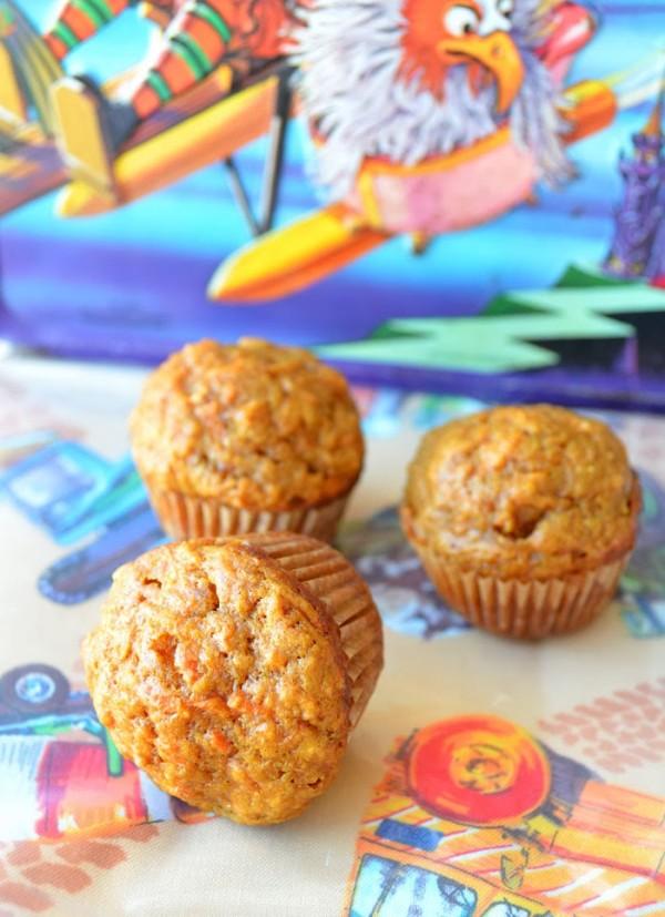 Lunchbox Carrot Mini Muffins