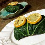 Rosemary Potato Chickpea Collard Green Wraps 2