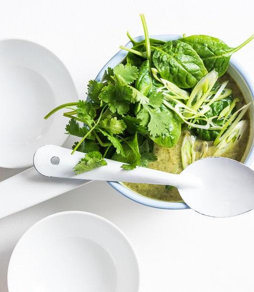 Thai Coconut Broccoli Soup