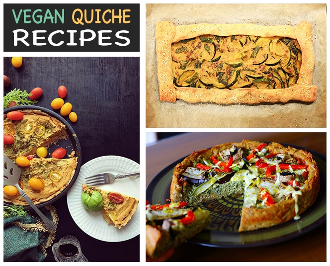 Vegan Quiche Recipes