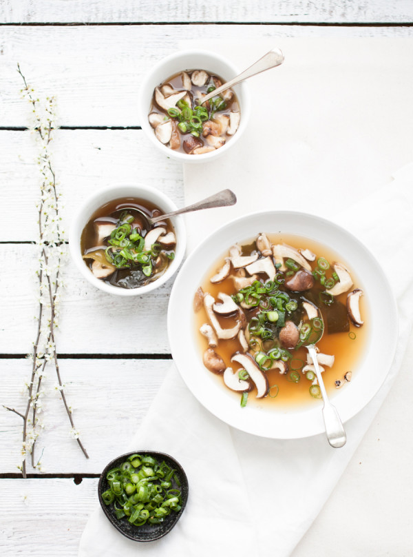 low fat miso soup