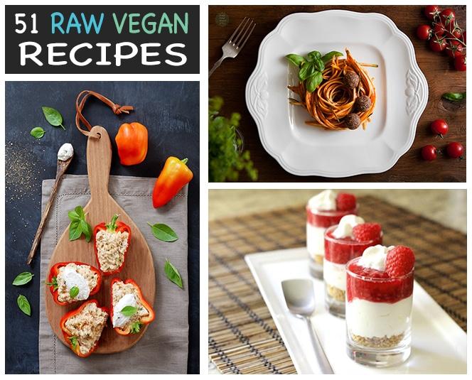 51 Stunning Raw Vegan Recipes