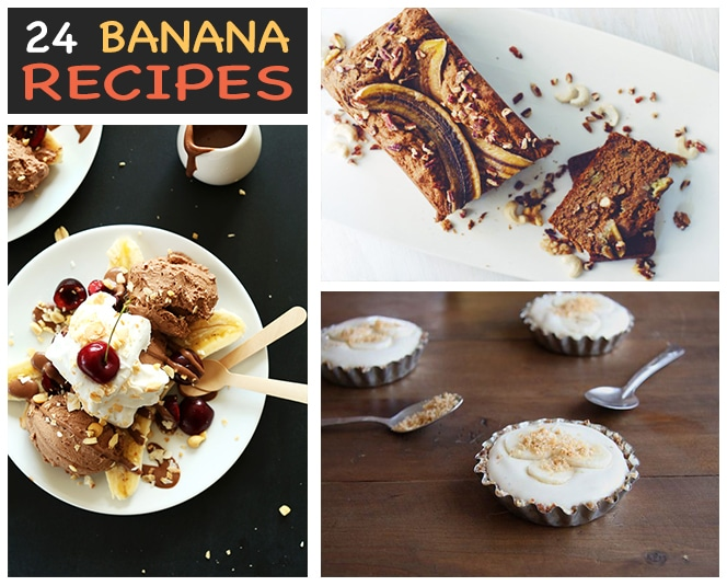 24 Vegan Banana Recipes