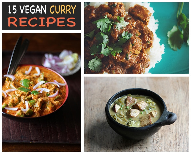 vegan curry recipes