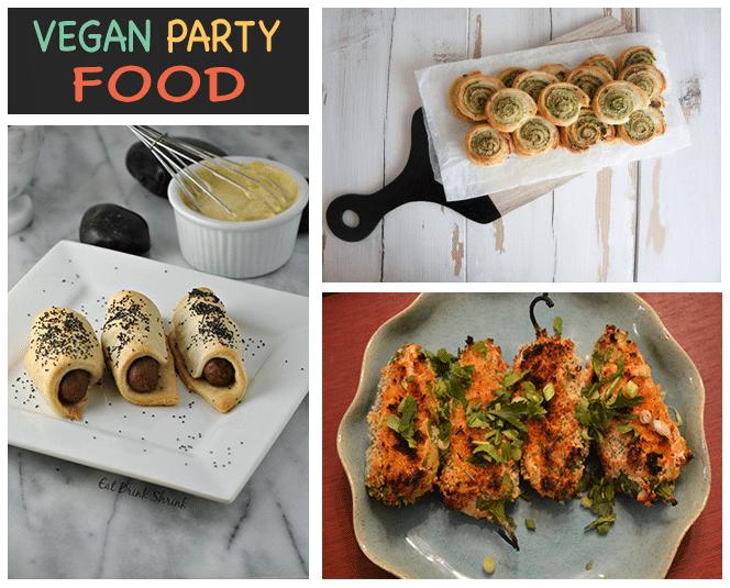 vegan party food