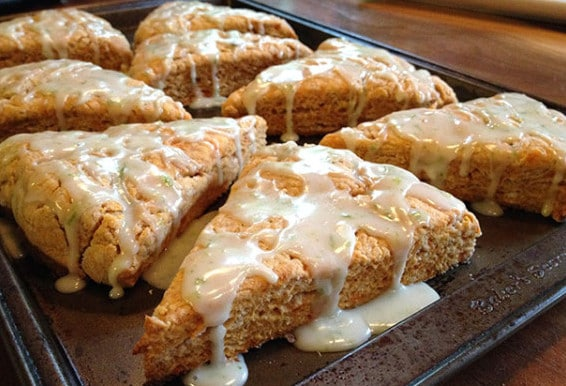 vegan-sweet-potato-scones-lime-icing