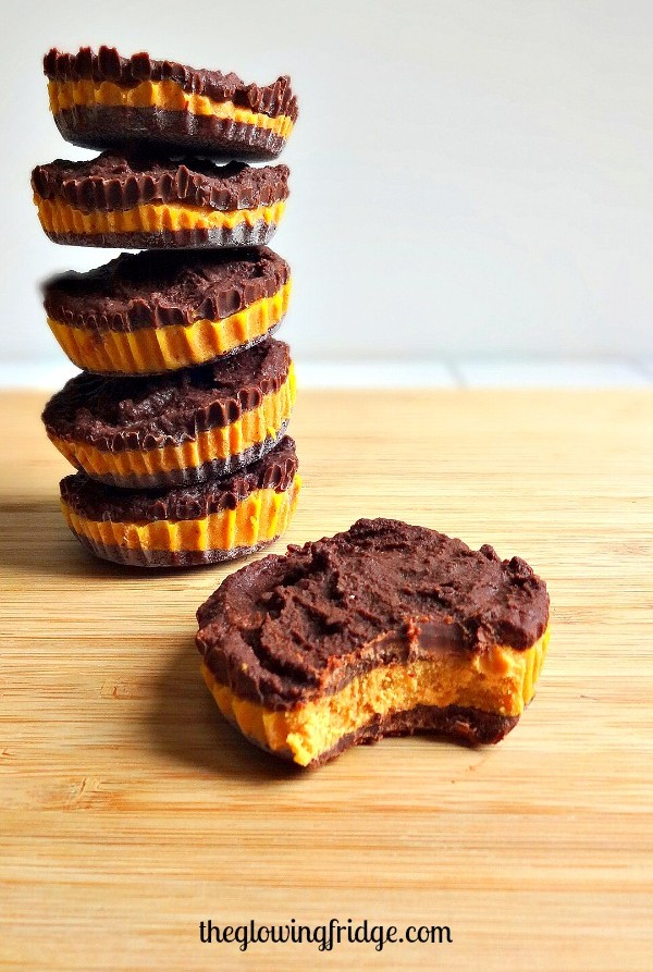 Chocolate Pumpkin Cups