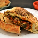 Spinach-Tomato-Vegan-Calzone