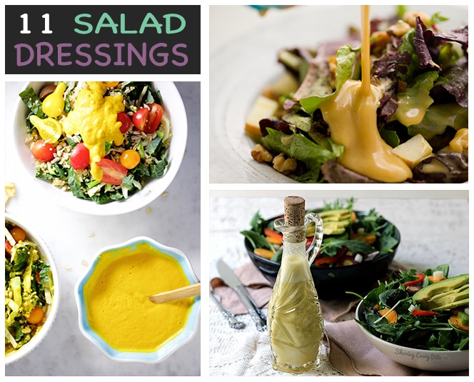 Vegan Salad Dressing Recipes